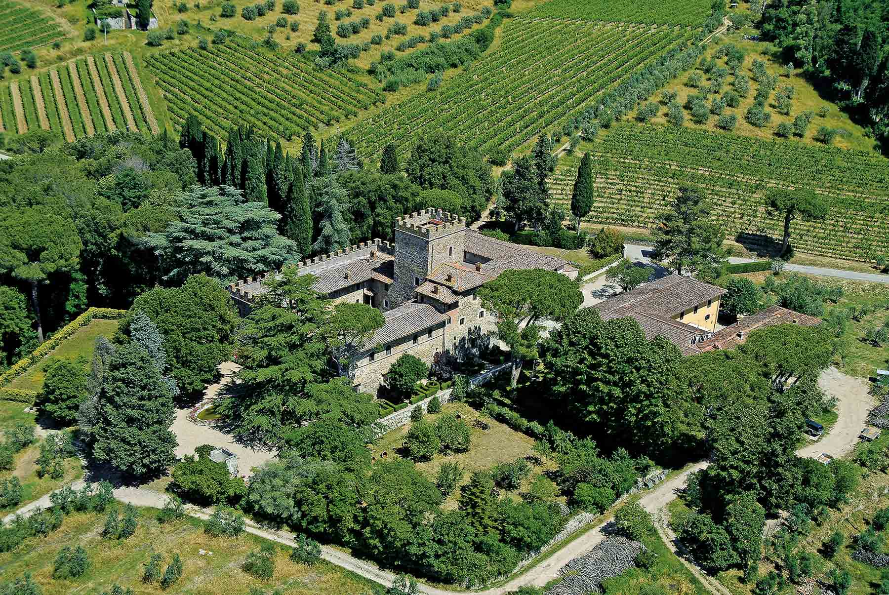 Castello Il Palagio, between Florence and Siena
