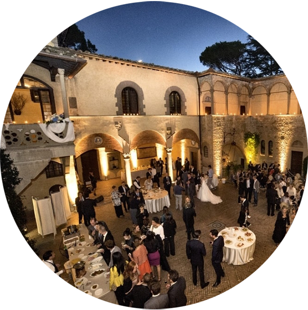 Wedding Party in Tuscany